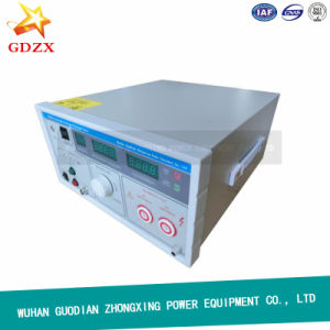 China Facotry Portable AC DC Pressure Test Dielectric Withstand Voltage Tester pictures & photos