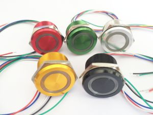 19mm Colorful Push Button Micro Switch