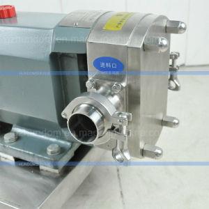 Sanitary Liquid Transfer Chocolate Sauce and Jam Lobe Rotor Pump pictures & photos