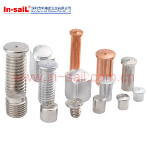 Steel Weld T Nut with Welding Point pictures & photos