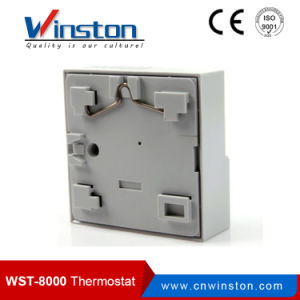 Electronic / Electromagnetic Floor Heating Room Thermostat 24VAC to 220V (WST-8000) pictures & photos