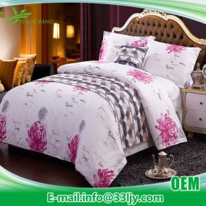 Hotel Supply Deluxe Printing Hospital White Duvet Cover pictures & photos