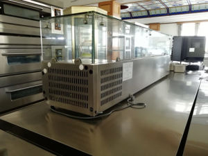 Counter-Top Chiller Fast Food Cold Showcase (TZL1200) pictures & photos