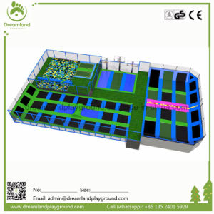 Fire Proof Colorful Commercial Indoor Trampoline Park with Polyurethane Foam Pit Cubes pictures & photos
