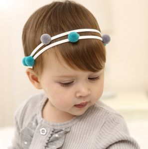 Wholesale Fashion Baby Hair Accessories Bowknot Head Band Flower Hair Band pictures & photos