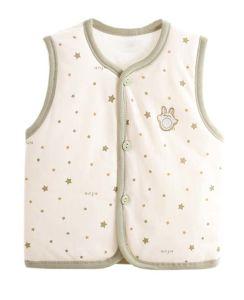 2017 New Fashion 100% Cotton Warm Vest Cartoon Baby Clothes pictures & photos