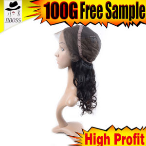 New Fashion Human Hair Jewish Pony Wig pictures & photos