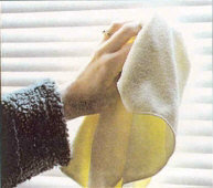 Microfiber Glass Cleaning Cloth Window Clean Towel