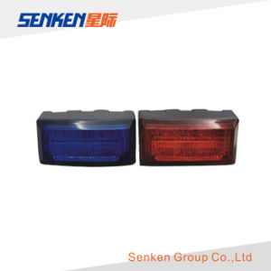 Motorcycle Front Warning Lamp DC12V Red Blue Lte1405 pictures & photos