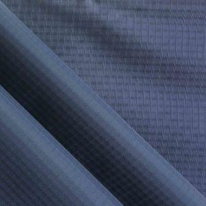 Waterproof Quadruple-Yarn Ripstop Diamond Oxford Nylon Fabric with PU pictures & photos