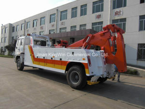 China HOWO Brand 15tons Road Wrecker Truck pictures & photos