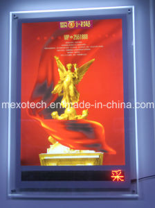LED Message Display Crystal Posters Frame Light Boxes pictures & photos