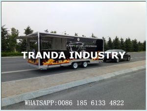 Multifunction Mobile Kitchen Vehicle Crepes Carts pictures & photos
