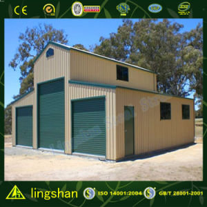 Lingshan Modern Design American Type Steel Barn for Australia (L-S-050) pictures & photos