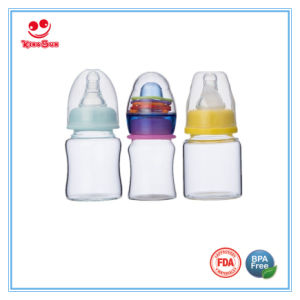 Standard Neck Rattle Mini Glass Baby Bottle for Newborns pictures & photos