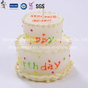 Fancy Wax Cake Shaped Candles pictures & photos