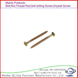 Fibre Board Screw, Color Zinc, China. pictures & photos