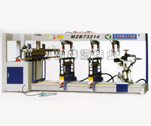 Four-Row Woodwork Drilling Machine