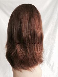 "100% Virgin European Hair Made Sheitels Kosher Wigs-14"" pictures & photos"