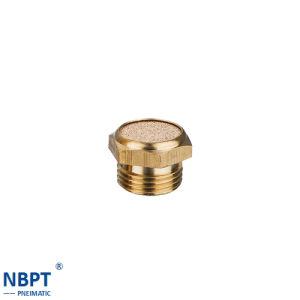 Pneumatic Brass Mini Copper Plastic Muffler