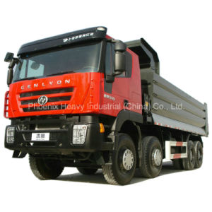 Hongyan Iveco 340HP 8X4 C100 Tipper for Ethiopia pictures & photos