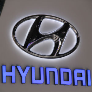 Outdoor Advertising LED Car Brand Logo Sign pictures & photos