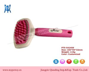 Pink Grooming Brush Dog Cleaning Tool pictures & photos