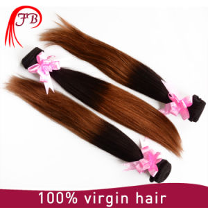 Two Tone Remy Human Hair Weft pictures & photos