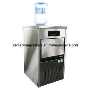25kgs Outdoor Self-Feed Cube Ice Maker for Commercial Use pictures & photos