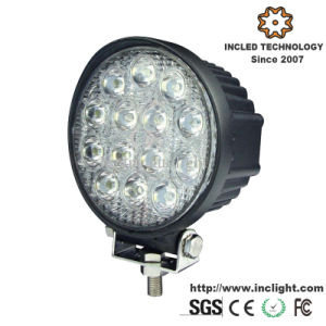 7.5 Inch 42W 3500lm Spotlight Truck Work Light