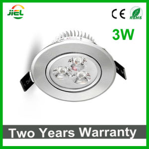 Factory Outlet Recessed 3W LED Ceiling Down Light pictures & photos