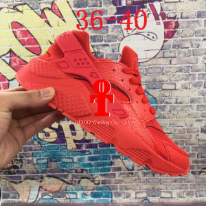 . 2016 Air Huarache IV Running Shoes for Men & Women, Black White High Quality Sneakers Triple Huaraches Jogging Sports Shoes pictures & photos