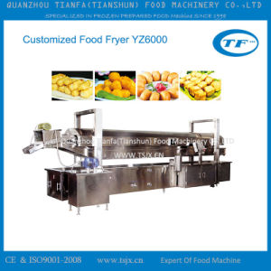 Stainless Steel Continuous Snack Food Fryer