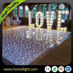 Wedding Decoration Star Effect White LED Dance Floor pictures & photos