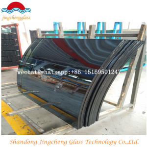 8mm/10mm/12mm Clear/ Color Bent Toughened Building Tempered Curved Glass pictures & photos