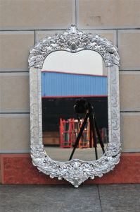 Dressing Aluminium Mirror, Bathroom Mirrors, Cheap Make up Mirror pictures & photos