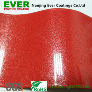Metallic Pearl Red Powder Coating Powder Paint pictures & photos
