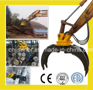 Rotable Hydraulic Excavator Wood Grapple for 30tons Excavator pictures & photos