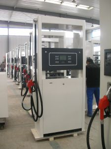 One Nozzle One Pump Gas Station Fuel Dispenser pictures & photos