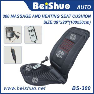 New Design Massage Heating Car Seat Cushion with Polyester Material pictures & photos