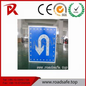Roadsafe LED Guiding Turn Aluminum Reflective Custom Warning Road Safety Traffic Sign Symbols pictures & photos