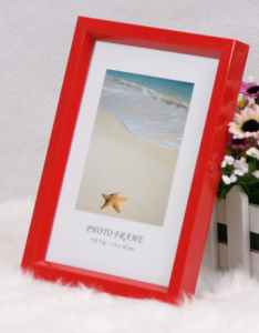 Plastic Back Open Photo Frame/Picture Frame/Frame/Colorfull Picture Frame (BP) pictures & photos