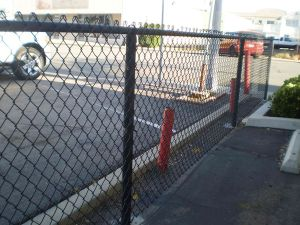 PVC Coated Galvanized Security 9 Gauge Chain Link Fence Price pictures & photos