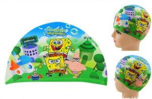 Lycra Cartoon Swimming Cap for Children Kids Boy & Girl pictures & photos
