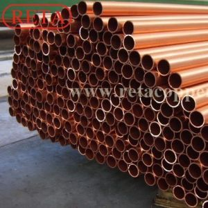 Air Conditioner Copper Tube ASTM B280 Straight Copper Tube pictures & photos