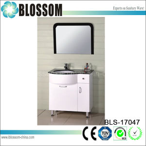 Simple Design PVC Wash Basin Bath Cabinet (BLS-17047) pictures & photos
