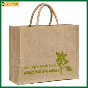 Reusable Durable Jute Shopping Bag (TP-SP530) pictures & photos