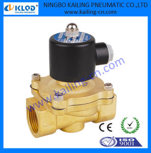 DC24V Electric Control Solenoid Valve Brass Material for Air Water pictures & photos