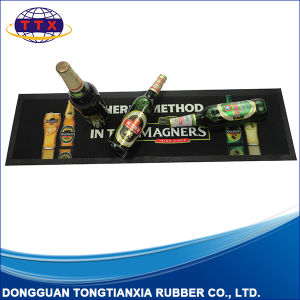 Custom Logo Printing Anti Slip Friendly Promotional Rubber Bar Runner pictures & photos