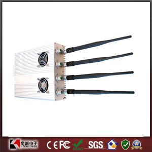 4W Adjustable GPS Jammer & 3G Cell Phone Jammer pictures & photos